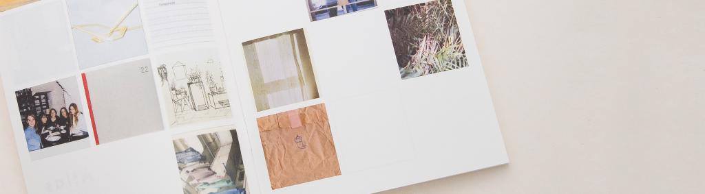 Detalle de cuaderno. Exposicion Cara de Nance en Do Design