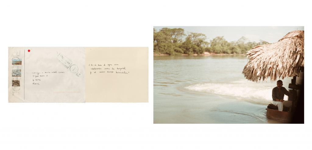Proyecto pictórico y fotográfico basado en los texto de Eduardo Chillida. Las fotografías fueron tomadas en Petén, Guatemala en 2015 y están acompañadas por cartas y sobres destinados a diferentes personas alrededor del mundo. Mención Honorífica en GuatePhoto 2015