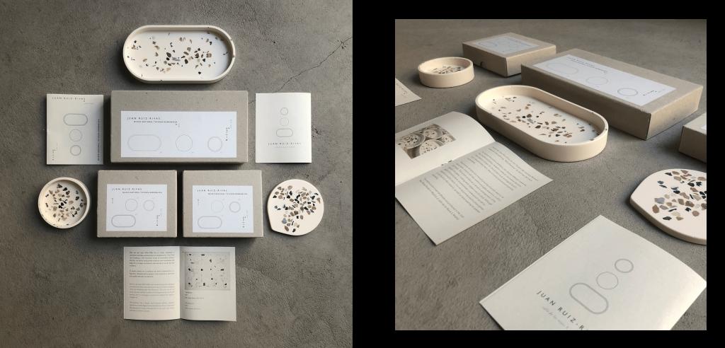 Diseño y desarrollo de la identidad visual y packaging para ¨Leñadores ¨ de Bart van der Leck, proyecto de Juan Ruiz-Rivas para el Museo Thyssen-Bornemisza Madrid.