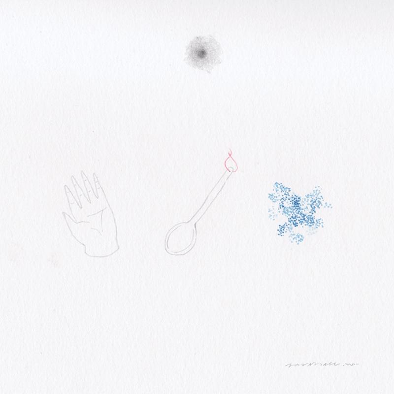 Trozos de Recetas de Madre - Ilustración de Saveria Casaús Carchella inspirada en las recetas familiares.